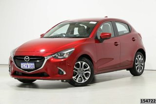 2019 Mazda 2 DJ GT (5Yr) Soul Red 6 Speed Automatic Hatchback.