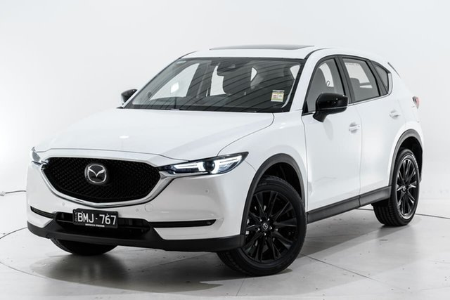 Demo Mazda CX-5 KF4WLA GT SKYACTIV-Drive i-ACTIV AWD SP Narre Warren, 2021 Mazda CX-5 KF4WLA GT SKYACTIV-Drive i-ACTIV AWD SP White 6 Speed Sports Automatic Wagon