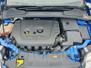 2013 Ford Focus LW MkII Trend PwrShift Blue 6 Speed Sports Automatic Dual Clutch Hatchback.