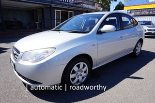 2007 Hyundai Elantra HD SX Continental Silver 4 Speed Automatic Sedan.