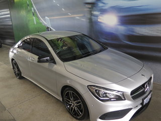 2017 Mercedes-Benz CLA200 117 MY17 Silver 7 Speed Automatic Coupe