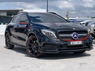 2015 Mercedes-Benz GLA-Class X156 806MY GLA45 AMG SPEEDSHIFT DCT 4MATIC Black 7 Speed.