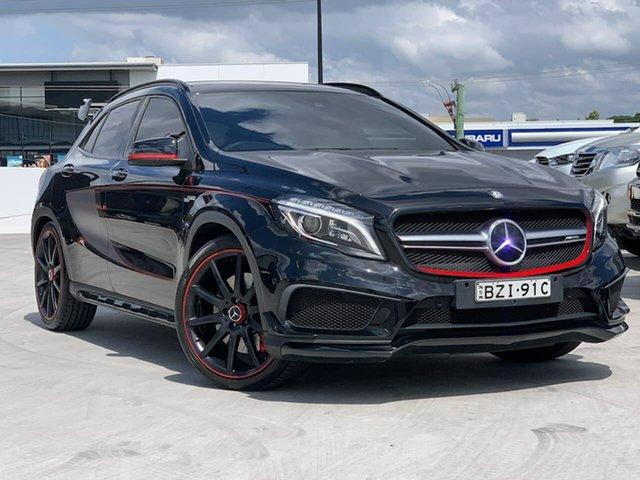 Used Mercedes-Benz GLA-Class X156 806MY GLA45 AMG SPEEDSHIFT DCT 4MATIC Liverpool, 2015 Mercedes-Benz GLA-Class X156 806MY GLA45 AMG SPEEDSHIFT DCT 4MATIC Black 7 Speed