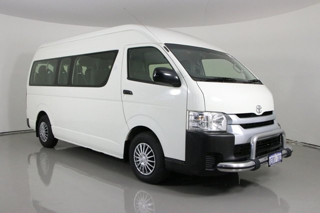 Used Toyota HiAce KDH223R MY12 Upgrade Commuter Bentley, 2014 Toyota HiAce KDH223R MY12 Upgrade Commuter White 4 Speed Automatic Bus