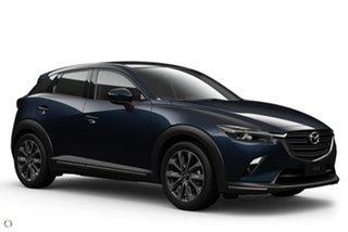 2020 Mazda CX-3 DK2W7A sTouring SKYACTIV-Drive FWD Blue 6 Speed Sports Automatic Wagon