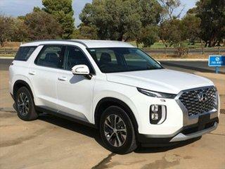 2020 Hyundai Palisade LX2.V1 MY21 AWD White Cream 8 Speed Sports Automatic Wagon.