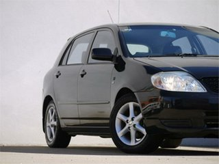 2003 Toyota Corolla ZZE122R Conquest Black 5 Speed Manual Hatchback