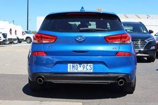 2018 Hyundai i30 PD2 MY18 SR D-CT Blue 7 Speed Sports Automatic Dual Clutch Hatchback