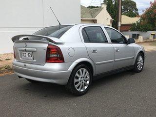 2003 Holden Astra TS MY03 CDX Silver 5 Speed Manual Sedan.