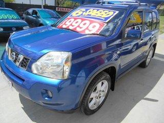 2009 Nissan X-Trail T31 MY10 ST-L Blue 6 Speed Manual Wagon.
