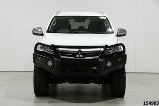 2017 Mitsubishi Pajero Sport MY17 GLS (4x4) 7 Seat White 8 Speed Automatic Wagon.