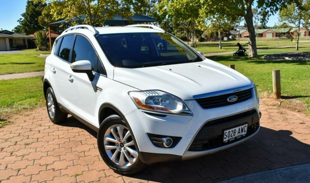 Used Ford Kuga TE Trend AWD Ingle Farm, 2012 Ford Kuga TE Trend AWD White 5 Speed Sports Automatic Wagon