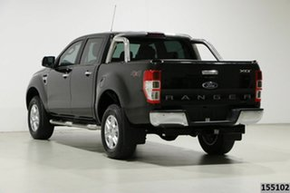 2015 Ford Ranger PX XLT 3.2 (4x4) Black 6 Speed Automatic Double Cab Pick Up