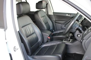 2014 Volkswagen Tiguan 5N MY14 132TSI DSG 4MOTION Pacific Candy White 7 Speed
