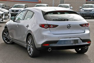 2020 Mazda 3 BP2HLA G25 SKYACTIV-Drive GT Silver 6 Speed Sports Automatic Hatchback.