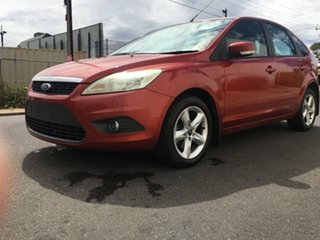 2009 Ford Focus LT LX Red 4 Speed Sports Automatic Hatchback