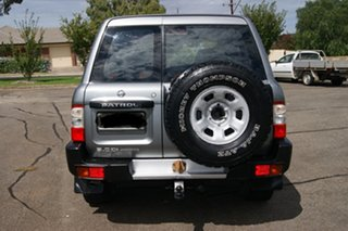 2002 Nissan Patrol GU III ST (4x4) Grey 5 Speed Manual Wagon.