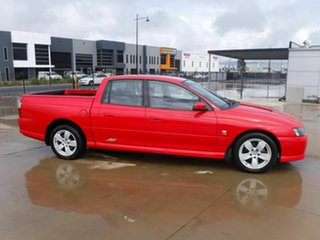 2003 Holden Crewman VY II SS Red 4 Speed Automatic Utility.