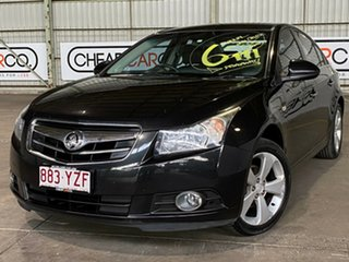 2009 Holden Cruze JG CDX Black 5 Speed Manual Sedan.