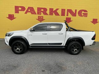 2017 Toyota Hilux GUN126R SR5 Double Cab White 6 Speed Sports Automatic Utility