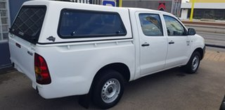 2010 Toyota Hilux TGN16R 09 Upgrade Workmate 4 Speed Automatic Dual Cab Pick-up
