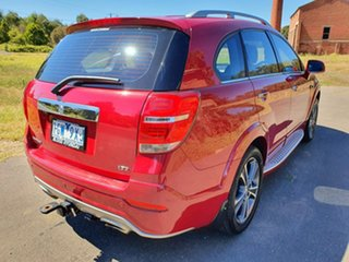 2016 Holden Captiva CG LTZ Red Sports Automatic Wagon