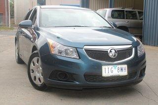 2012 Holden Cruze JH MY13 CD Blue 6 Speed Automatic Sedan.