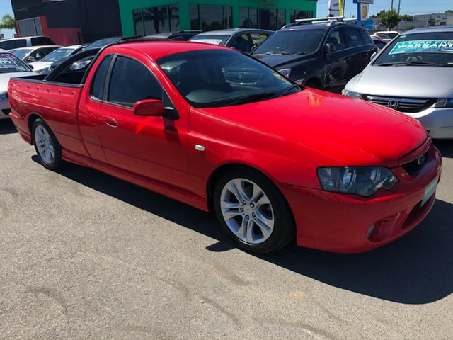 Used Ford Falcon BF XR6 Magnet Cheltenham, 2006 Ford Falcon BF XR6 Magnet Orange 4 Speed Auto Seq Sportshift Utility