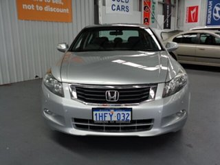 2008 Honda Accord 8th Gen V6 Luxury Grey 5 Speed Sports Automatic Sedan.
