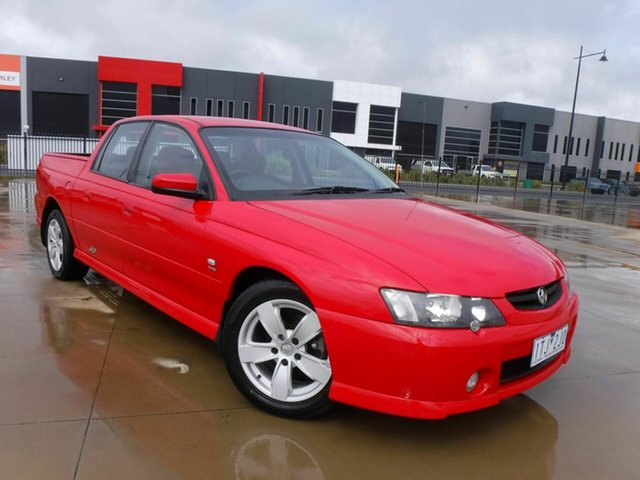 Used Holden Crewman VY II SS Pakenham, 2003 Holden Crewman VY II SS Red 4 Speed Automatic Utility