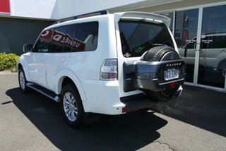 2013 Mitsubishi Pajero NW MY14 VR-X White 5 Speed Sports Automatic Wagon