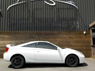 2002 Toyota Celica ZZT231R SX White 4 Speed Automatic Liftback.
