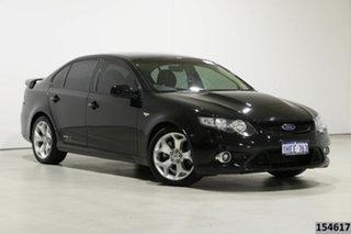2008 Ford Falcon FG XR8 Black 6 Speed Auto Seq Sportshift Sedan.