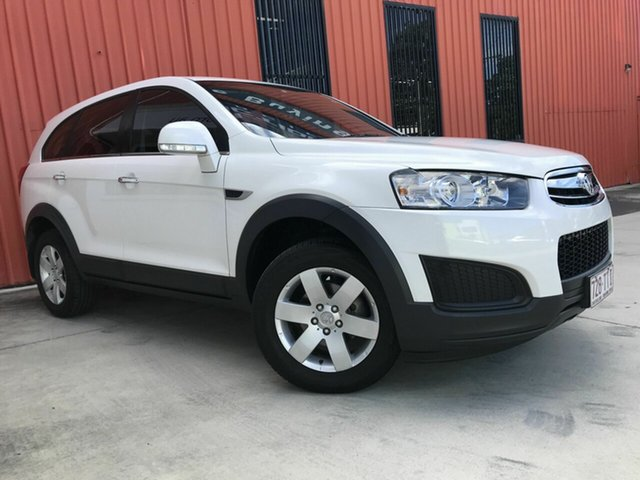 Used Holden Captiva CG MY14 7 LS Molendinar, 2014 Holden Captiva CG MY14 7 LS White 6 Speed Sports Automatic Wagon