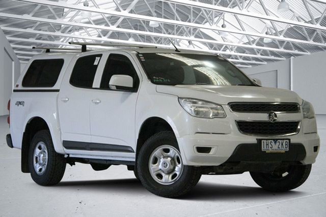 Used Holden Colorado RG MY16 LS (4x4) Altona North, 2016 Holden Colorado RG MY16 LS (4x4) Summit White 6 Speed Automatic Crew Cab Pickup