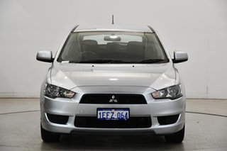 2013 Mitsubishi Lancer CJ MY13 ES Sportback Cool Silver 6 Speed Constant Variable Hatchback.