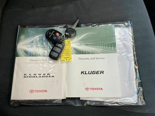 2007 Toyota Kluger GSU45R KX-R (4x4) 7 Seat Silver 5 Speed Automatic Wagon