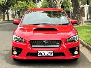 2016 Subaru WRX V1 MY17 STI AWD Red 6 Speed Manual Sedan.