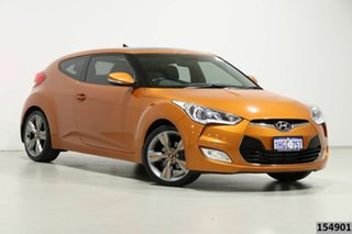 2012 Hyundai Veloster FS + Orange 6 Speed Manual Coupe.