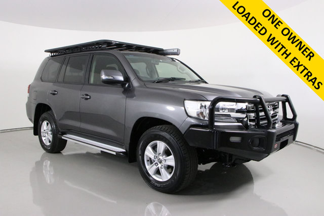 Used Toyota Landcruiser VDJ200R MY16 GXL (4x4) Bentley, 2016 Toyota Landcruiser VDJ200R MY16 GXL (4x4) Grey 6 Speed Automatic Wagon
