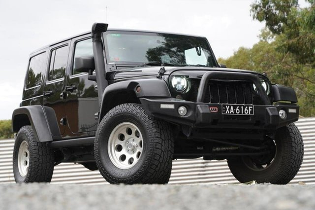 Used Jeep Wrangler JK MY2014 Unlimited Overland Clare, 2014 Jeep Wrangler JK MY2014 Unlimited Overland Black 5 Speed Automatic Hardtop