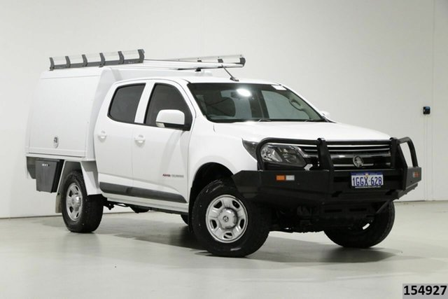 Used Holden Colorado RG MY17 LS (4x4) Bentley, 2017 Holden Colorado RG MY17 LS (4x4) White 6 Speed Manual Crew Cab Chassis