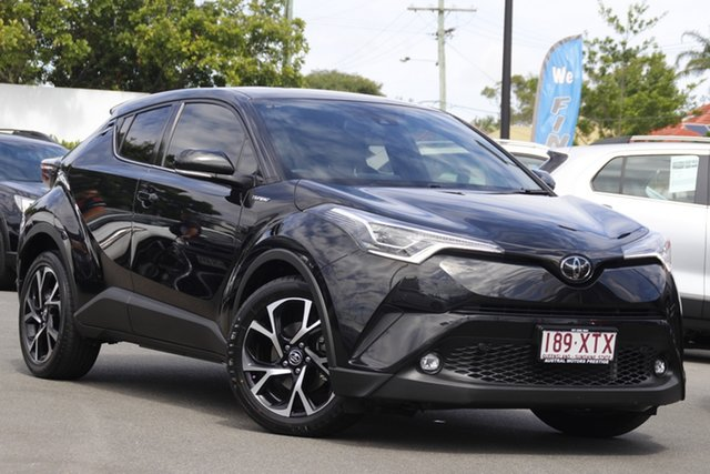 Used Toyota C-HR NGX10R Koba S-CVT 2WD Mount Gravatt, 2017 Toyota C-HR NGX10R Koba S-CVT 2WD Black 7 Speed Constant Variable Wagon