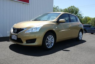 2014 Nissan Pulsar C12 ST 1 Speed Constant Variable Hatchback