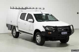 2017 Holden Colorado RG MY17 LS (4x4) White 6 Speed Manual Crew Cab Chassis