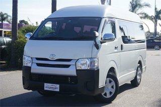 2015 Toyota HiAce KDH201R White 4 Speed Automatic Van.