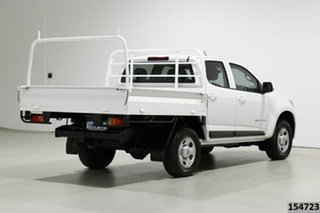 2016 Holden Colorado RG MY17 LS (4x4) White 6 Speed Automatic Crew Cab Chassis