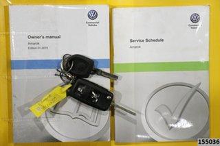 2015 Volkswagen Amarok 2H MY15 TDI400 (4x4) Grey 6 Speed Manual Utility