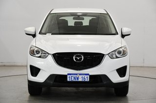 2014 Mazda CX-5 KE1071 MY14 Maxx SKYACTIV-Drive White 6 Speed Sports Automatic Wagon.