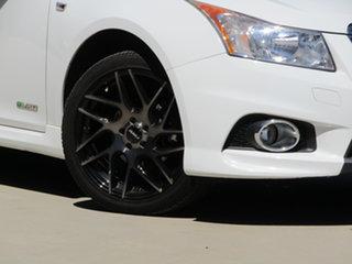 2011 Holden Cruze JH Series II MY12 SRi-V White 6 Speed Sports Automatic Sedan.